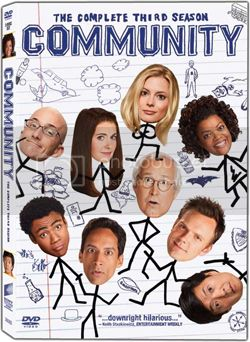 Community: The Complete Third Season on DVD August 14